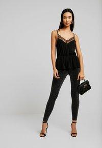 Monki - ED - Leggings - Trousers - black - 1