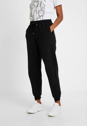 KARDI TROUSERS - Teplákové kalhoty - black