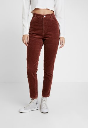 KIMMY TROUSERS - Pantaloni - brown