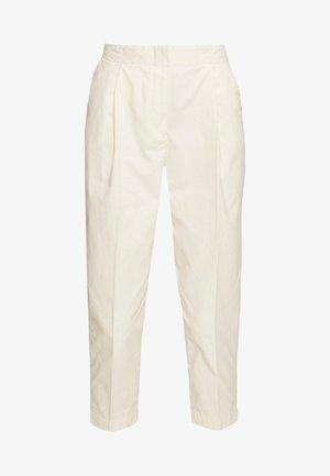 MONA TROUSERS - Pantalon classique - white