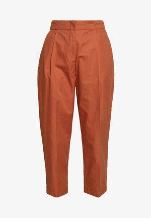 MONA TROUSERS - Pantalon classique - orange dark