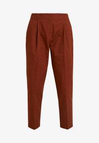 Monki - MONA TROUSERS - Trousers - brown medium dusty - 3