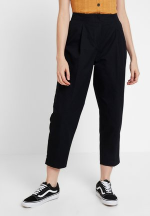 MONA TROUSERS - Pantaloni - black