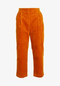 Monki - MONICA TROUSERS - Pantalon classique - yellow dark - 5