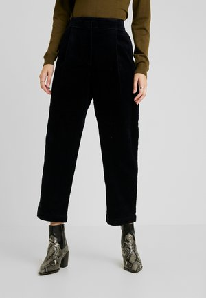 MONICA TROUSERS - Trousers - blue dark