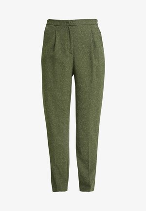 TARJA TROUSERS - Chino - green medium dusty/salt