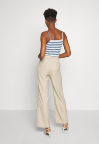 Monki - STACY TROUSERS - Bukse - beige - 2