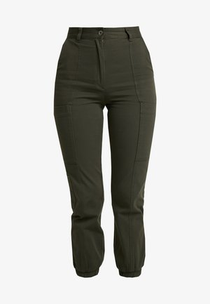 COSMA CARGO - Pantaloni - dark khaki