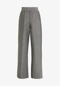 Monki - DONNA PARTY TROUSERS - Kalhoty - silver - 4