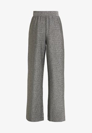DONNA PARTY TROUSERS - Bukse - silver