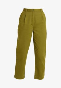 Monki - JAINEY TROUSERS - Bukse - green - 4