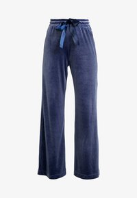 Monki - QARLA TROUSERS - Kangashousut - blue - 4