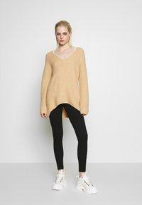 Monki - FRIDA - Leggings - Trousers - black - 1