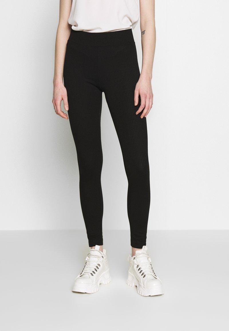 Monki - FRIDA - Leggings - Trousers - black