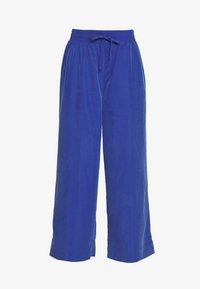 Monki - TAVI TROUSERS - Pantaloni - blue - 3
