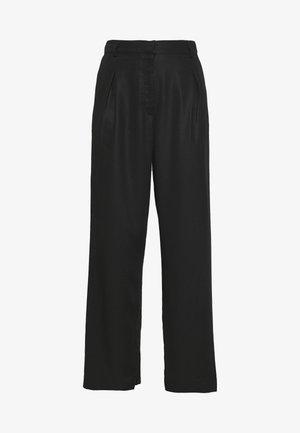 CARMEN TROUSERS - Pantalon classique - black