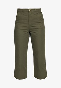 Monki - MABEL TROUSERS - Trousers - khaki - 3