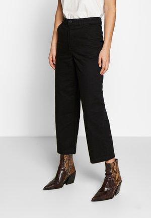 MABEL TROUSERS - Pantaloni - black dark
