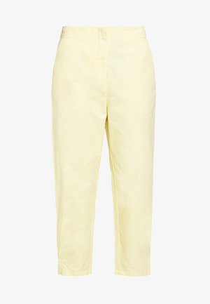 MARISSA TROUSERS - Pantalon classique - yellow light solid