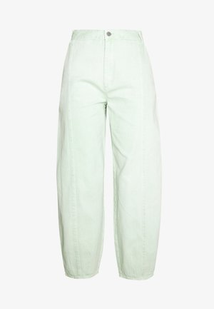 JONI TROUSERS - Trousers - green light sage