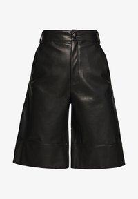 Monki - LENNIE CULOTTE - Pantaloni - black dark - 3
