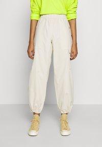 Monki - SUM TROUSERS - Trousers - beige dusty - 0