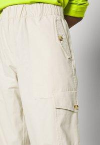 Monki - SUM TROUSERS - Trousers - beige dusty - 4