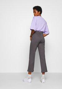 Monki - VIVA TROUSERS - Trousers - lilac purple - 2