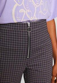 Monki - VIVA TROUSERS - Trousers - lilac purple - 4