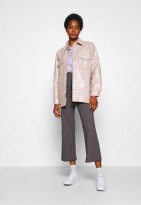Monki - VIVA TROUSERS - Trousers - lilac purple - 1