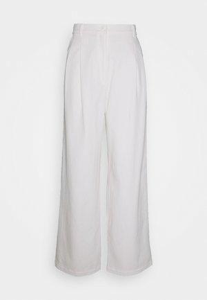 GALINA TROUSERS - Pantaloni - white light