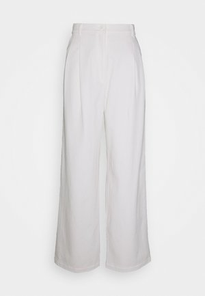 GALINA TROUSERS - Bukse - white light
