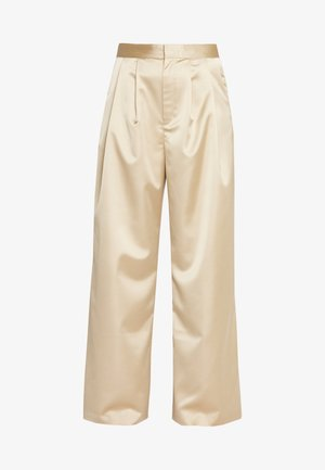 MINA TROUSERS - Stoffhose - beige