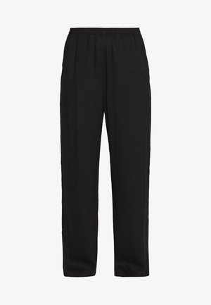 ROYA TROUSERS ASIA - Tygbyxor - black