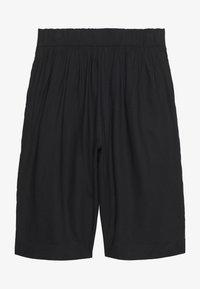 Monki - INA CULOTTE - Shorts - black dark - 1