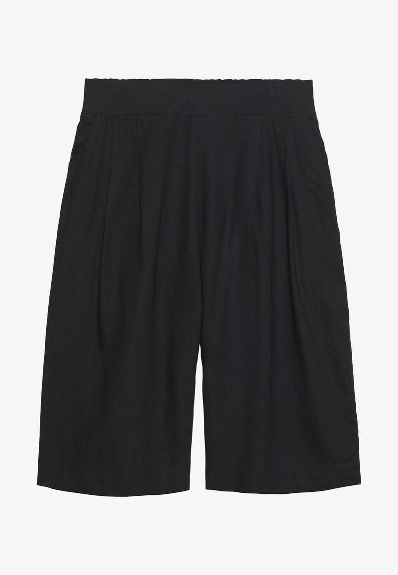 Monki - INA CULOTTE - Shorts - black dark