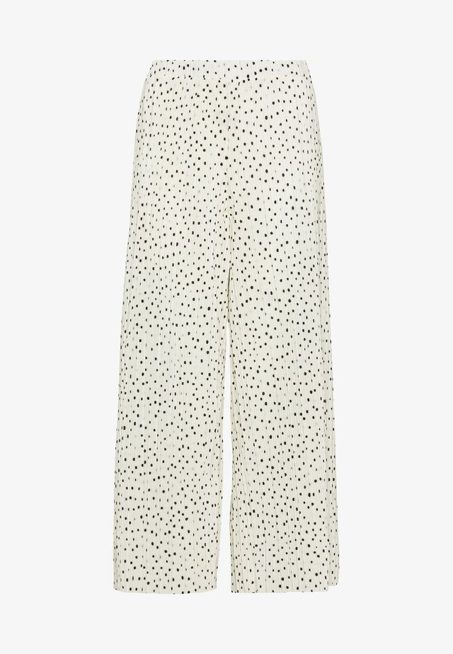 SEVERINA TROUSERS - Trousers - white dusty light