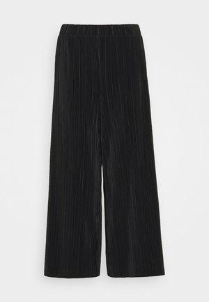 SEVERINA TROUSERS - Pantalones - black dark