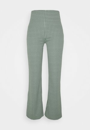 VIVA TROUSERS SCALE - Pantalones - green dusty light palma