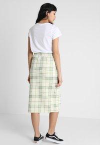 Monki - GILDA SKIRT - Pencil skirt - spring ecru - 2