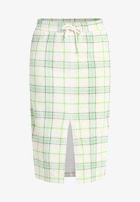Monki - GILDA SKIRT - Pencil skirt - spring ecru - 3