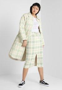 Monki - GILDA SKIRT - Pencil skirt - spring ecru - 1