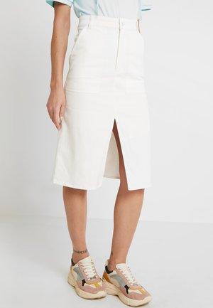 BRITTA SKIRT - A-line skirt - white