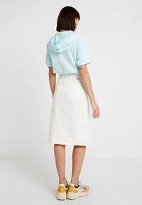Monki - BRITTA SKIRT - A-line skirt - white - 2