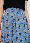 Monki - SIGRID SKIRT  - A-line skirt - blue