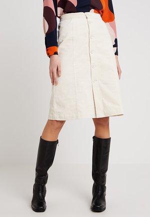 SIMONE SKIRT - Áčková sukně - beige
