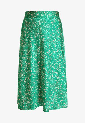 YANG SKIRT ONLINE UNIQUE - Spódnica trapezowa - green