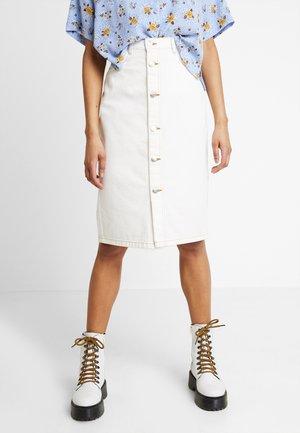 JANE SKIRT - Pencil skirt - off white