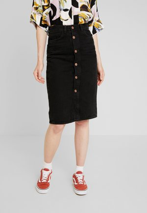 JANE SKIRT - Falda de tubo - black dark