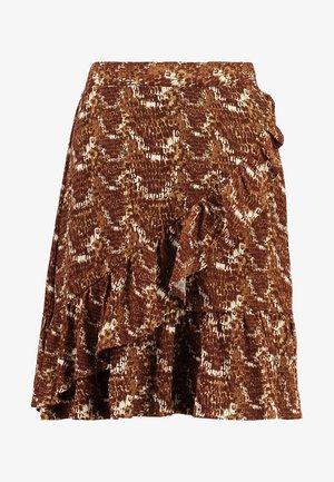 VENDI SKIRT - A-snit nederdel/ A-formede nederdele - brown/beige